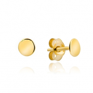 Złote kolczyki sztyfty pr.333