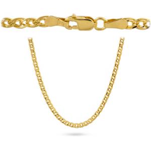 Złoty łańcuszek nonna 50cm pr.585