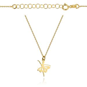Złoty naszyjnik celebrytka baletnica pr.333