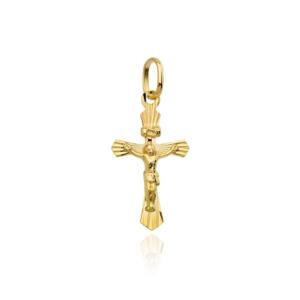 Złoty krzyżyk z wizerunkiem ukrzyżowanego Jezusa pr.333
